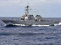 ABD, savaş gemilerini Tayvan Boğazı'ndan geçirdi
