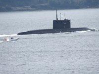'Veliky Novgorod' isimli Rus denizaltısı, Çanakkale Boğazı'ndan geçti