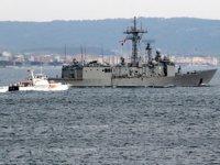 NATO gemileri, Çanakkale Boğazı'ndan geçti