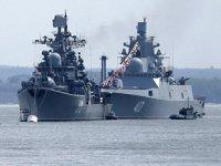 Rus gemileri, Karadeniz'de NATO nöbetine başladı