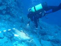 3 bin 600 yıllık batıkta 74 adet bakır külçe bulundu