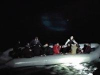 Kuşadası'nda 34 düzensiz göçmen yakalandı