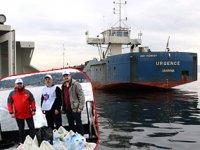 Türkiye Denizciler Sendikası, Urgence gemisinin mürettebatına gıda yardımında bulundu