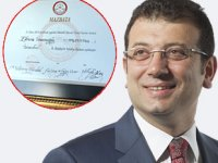 Ekrem İmamoğlu, mazbatasını aldı! İmamoğlu, resmen İstanbul Büyükşehir Belediye Başkanı...