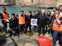 Antalya'da denize bukaşi topları bırakılacak