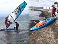 Norveçli denizci, sörf tahtasıyla Sinop'a ulaştı
