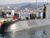 TCG Sakarya Denizaltısı, KKTC'de ziyarete açıldı