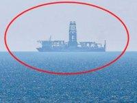 Fatih sondaj gemisi, Antalya açıklarına geldi