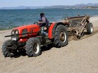 Çalış Plajı, caretta carettalar için temizleniyor