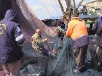 Tekneler bakıma alındı, ağlar örülmeye başlandı
