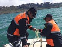 Van'da kaçak avlanmış inci kefali ve 700 metre ağ ele geçirildi