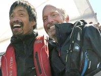 Görme engelli Japon denizci, yatıyla Pasifik Okyanusu'nu geçti