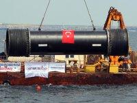 Ergene Projesi'nde son boru denize bırakıldı