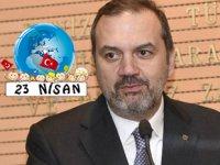 Tamer Kıran, 23 Nisan Ulusal Egemenlik ve Çocuk Bayramı'nı kutladı