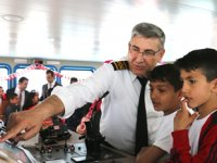 Çocuklar, 23 Nisan Ulusal Egemenlik ve Çocuk Bayramı'nı Negmar ile kutladı