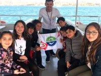 İstanbul Boğazı'nda 23 Nisan coşkusu yaşandı