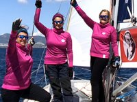Deniz tutkunu 3 kadın, barış için Bodrum'dan Samsun'a yelken açtı