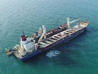 'Natalia' isimli kargo gemisi, aylardır kurtarılmayı bekiliyor