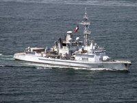 Fransız savaş gemisi, Çin karasularına illegal olarak girdi