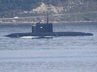 'Stary Oskol' isimli Rus denizaltısı, Çanakkale Boğazı'ndan geçti