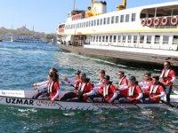 15 dragon bot sporcusu, 19 günde İstanbul'dan Samsun'a varacak