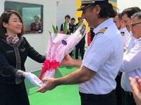 'PACIFIC JASPER' isimli tankeri Türk mürettebat teslim aldı