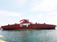 Cemre Tersanesi, TUSTNA isimli yolcu gemisini denize indirdi