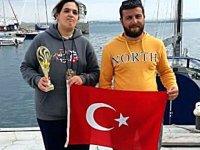 Didimli yelkenciler,  Bourgas Sailing Week Yarışları'nda üçüncü oldu