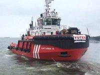 YÜTEK'in inşa ettiği KURTARMA 12 römorkörü, Kıyı Emniyeti Genel Müdürlüğü'ne teslim edildi
