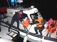 Ayvacık'ta 39 düzensiz göçmen yakalandı