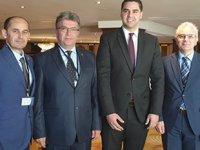 Türk Kılavuz Kaptanlar Derneği, Güney Avrupa Kılavuz Kaptanlar Toplantısı'na katıldı