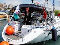 Bodrum'dan yola çıkan kadın yelkenciler, Ereğli'ye ulaştı
