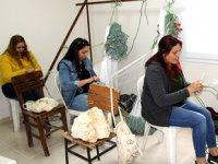 Mersinli kadınlar, ağ örmeyi öğrenip meslek sahibi oldular