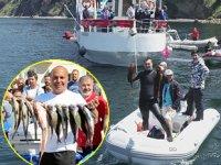 Zıpkınla Balık Avı Türkiye Şampiyonası eleme müsabakaları yapıldı
