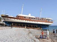 Bodrum'da 'Yüzen Oteller' denizle buluşuyor