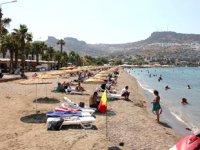 Bodrum plajlarında artık plastik şezlong olmayacak