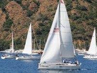 Göcek'te tekneler Atatürk anısına yarışıyor