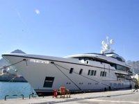 """""""North Star ve Baba's"""" isimli yatlar Antalya'da denize indirildi"""