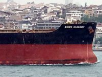 M/V ASIAN BLOSSOM'un Boğaz geçişi esnasında gemi trafiği kontrollü gerçekleştirildi