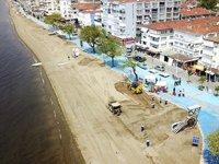 Bursa'da plajlar yaza hazırlanıyor