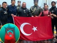Şahika Ercümen, Samsun'da 'Saygı Dalışı' gerçekleştirdi