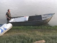 Van Gölü'ne batırılmış 1 adet tekne ve 350 metre manyat tipi ağ ele geçirildi