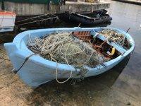 Mudanya'da tekne sahipleri ilanla aranıyor