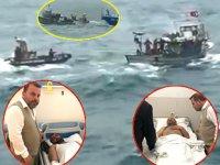 Türk balıkçı teknesine saldırının yeni görüntüleri ortaya çıktı