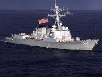 ABD'ye ait iki savaş gemisi, Tayvan Boğazı'ndan geçti
