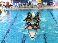 Sarıyer Belediyesi Liselerarası Havuzda Eğlenceli Kano Yarışları sona erdi