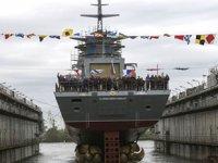 Rus korveti Gremyaşiy, Finlandiya Körfezi'nde denize açıldı