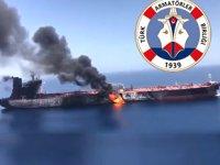 Türk Armatörler Birliği, tanker saldırısı sonrası 'Gemi Güvenliği İçin Alınabilecek Tedbirler'i paylaştı