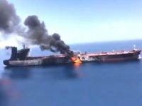 Japonya, Umman Denizi'ndeki tankerlere yönelik saldırıyı kınadı