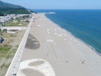 Karacabey Boğazı Plajı çalışmalarında sona gelindi